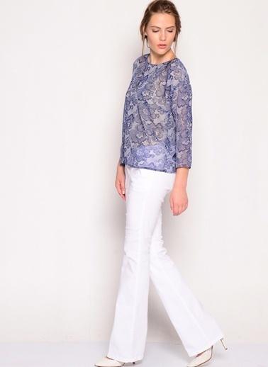 LMN by Limon Company Bluz Beyaz